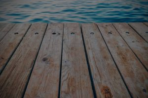 Edge of dock. Find Columbus depression treatment & counseling for anxiety symptoms at Blue Boat Counseling, Worthington, OH.