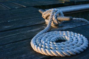 Dock cleat with rope. Skilled therapists at Blue Boat Counseling treat anxiety, depression, PTSD, teen depression & couples.