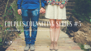 Couple standing & holding hands. Blue Boat Counseling offers marriage counseling in Columbus, Ohio for struggling couples.