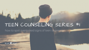 Teen boy outside. Find teen counseling in Columbus, OH for teen depression at Blue Boat Counseling in Worthington, 43085.