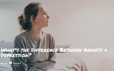 What's the Difference Between Anxiety and Depression?