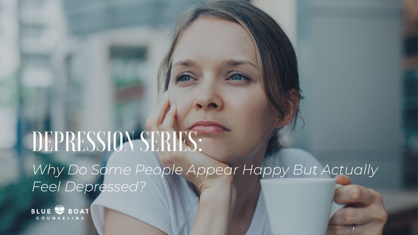 DEPRESSION SERIES: Why Do Some People Appear Happy But Actually Feel Depressed?